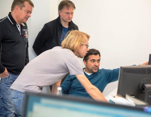 Development Team at Compex